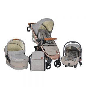 Πολυκαρότσι Malibu 310-182 3in1 Bebe Stars Brown