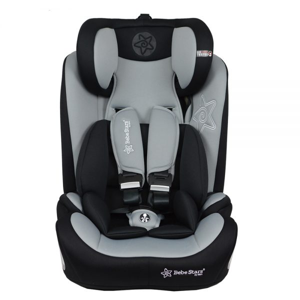 Car Seat Transporter 932 186 Bebe Stars Grey
