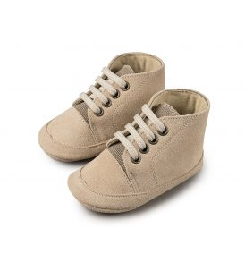 1034 BEIGE BABYWALKER SHOES