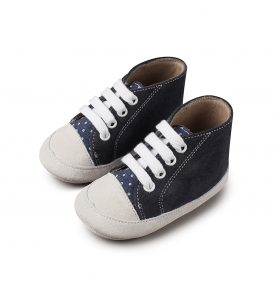1034 BLUE BABYWALKER SHOES