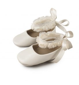 1506 IVORY BABYWALKER SHOES