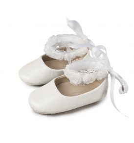 1506 WHITE BABYWALKER SHOES