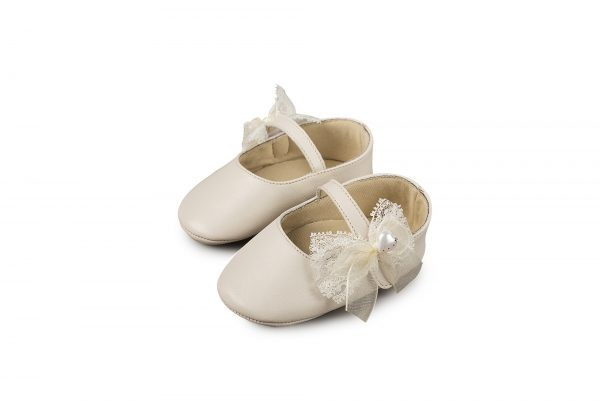 1555 IVORY BABYWALKER SHOES