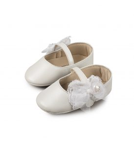 1555 WHITE BABYWALKER SHOES