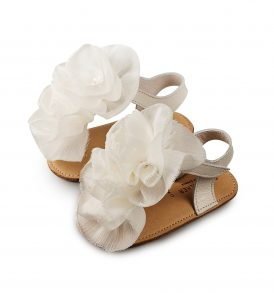 1559 IVORY BABYWALKER SHOES