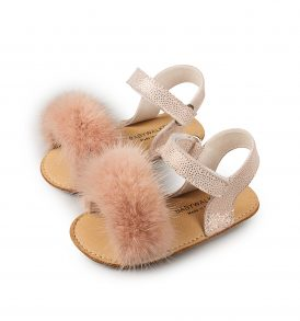 1571 DUSTY PINK BABYWALKER SHOES