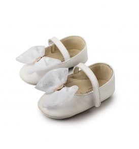 1573 WHITE BABYWALKER SHOES