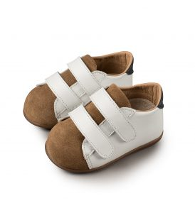 2064 WHITE CAMEL BABYWALKER SHOES