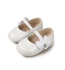 2513 WHITE BABYWALKER SHOES