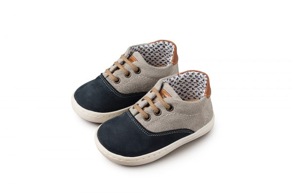 5067 BLUE GREY BABYWALKER SHOES