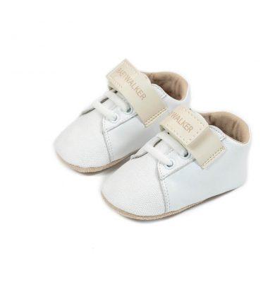 1092 WHITE IVORY BABYWALKER SHOES