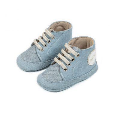 1094 LIGHT BLUE BABYWALKER SHOES