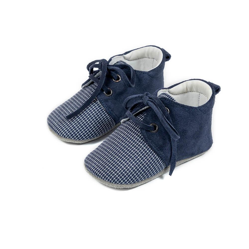 1099 BLUE BABYWALKER SHOES