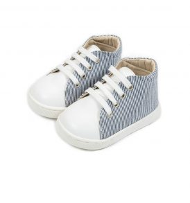 2083 BLUE WHITE BABYWALKER SHOES