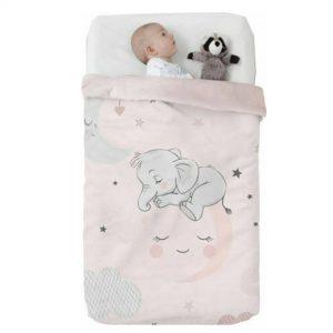 Κουβέρτα παιδική ισπανική κούνιας 110×140 & 75×100 Manterol Vip 529 C04