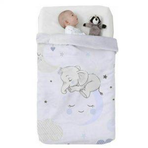 Κουβέρτα παιδική ισπανική κούνιας 110×140 & 75×100 Manterol Vip 529 C08