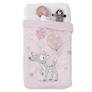 Κουβέρτα παιδική ισπανική κούνιας 110X140 Manterol Vip 530 C04