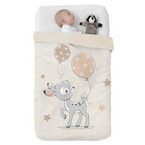 Κουβέρτα παιδική ισπανική κούνιας 110X140 Manterol Vip 530 C07