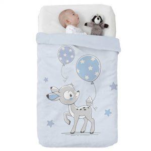 Κουβέρτα παιδική ισπανική κούνιας 110X140 Manterol Vip 530 C08