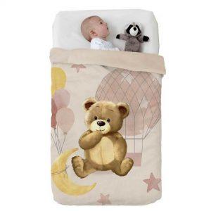 Κουβέρτα παιδική ισπανική κούνιας 110×140 & 75×100 Manterol Vip 528 C07